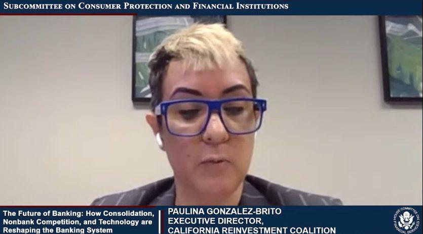 Paulina Gonzalez-Brito speaking